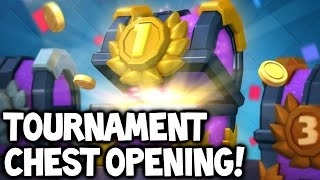 Clash Royale ? TOURNAMENT CHEST OPENING! #1 & Tournaments After New Update Launch!