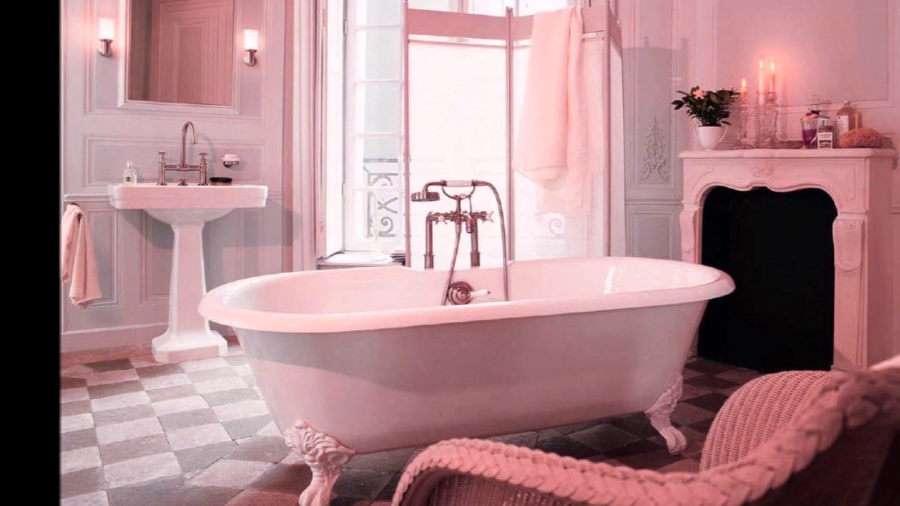 Awesome Pink Bathroom Ideas for Women - YouTube