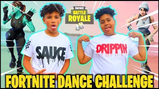FORTNITE DANCE IN REAL LIFE CHALLENGE