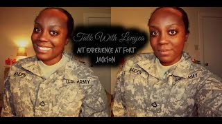 TALK WITH LONYEA| AIT Experience at Fort Jackson, South Carolina
