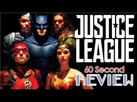 Justice League 60ish Sec Review (Spoiler Free)