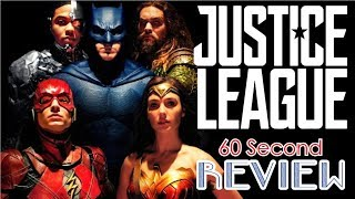 Justice League 60 Second Review (NO Spoilers) | CinemaWins
