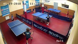 Турнир по настольносу теннису SUPER-8 19.05.18  1 часть