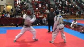 Quick TKD exchange at the Michigan-Midwest Taekwondo Championships