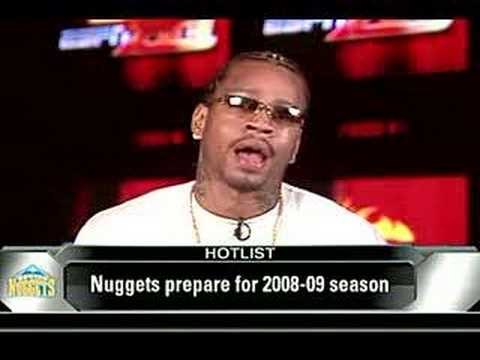 f12968b45f7 Allen Iverson Ready For Upcoming Season (ESPN Interview) - YouTube
