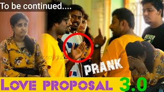 Love proposal prank 3.0 | love proposal in youtuber |sakthi2020