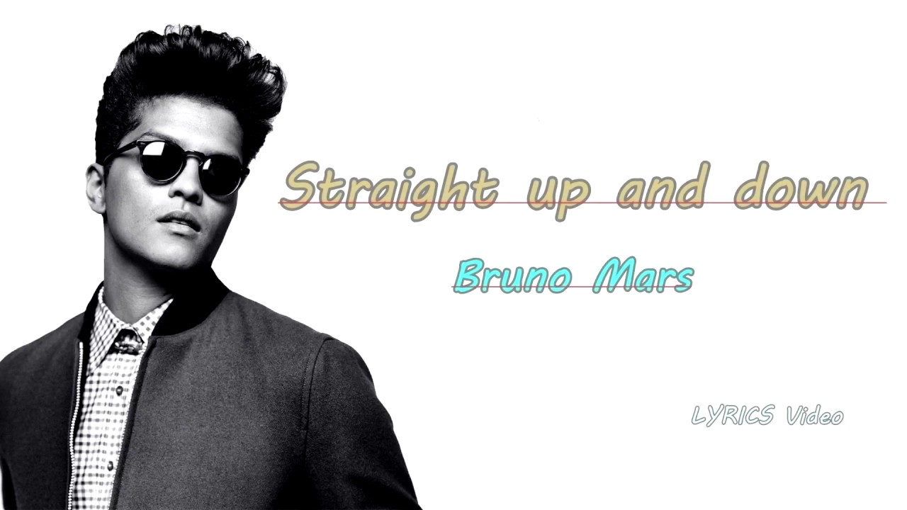 Straight Up And Down Lyrics Video Bruno Mars Youtube
