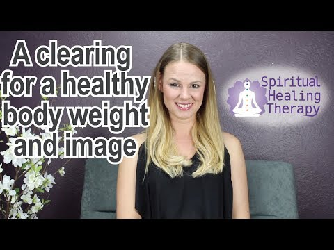 A Clearing for a healthy body weight and image