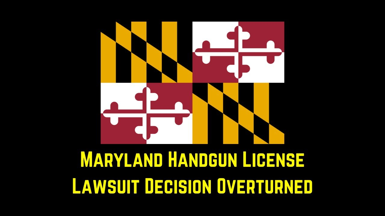 Appeals Court Overturns Decision on Maryland Handgun License Law