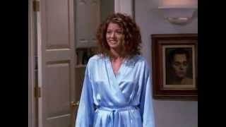 Debra Messing Blue Satin Robe (Robes for sale in the description!)