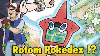 Rotom Pokedex?! - Pokemon Sun & Moon News