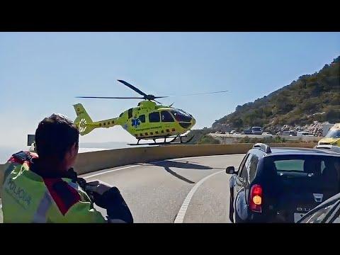 Espectacular maniobra de rescate (piloto helicóptero del SEM)