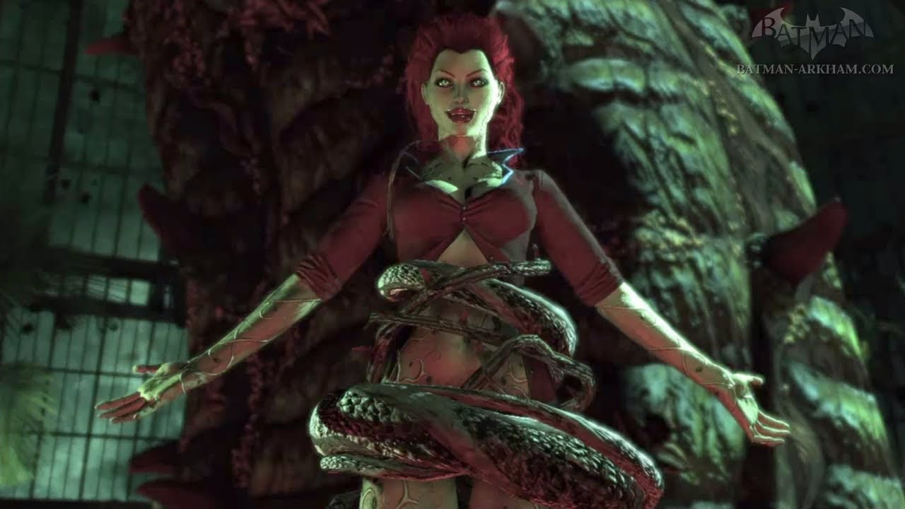 Batman Arkham City Stop Poison Ivy From Destroying The Island