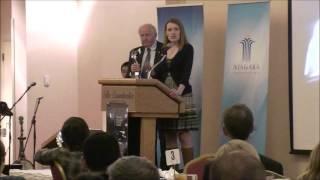 Amanda McGill - Niagara Peace and Dialogue Awards 2013