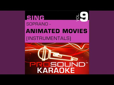 With A Smile And A Song (Karaoke Instrumental Track) (In the Style of Snow White)