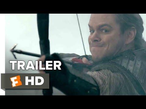 The Great Wall Official Trailer 2 (2017) - Matt Damon Movie