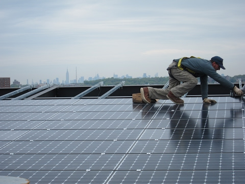 Solar on NYC Public Housing Opportunity