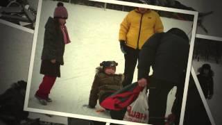 Урок физкультуры - Лыжи 2012, Начальная школа №859, г. Москва(Программа обучения