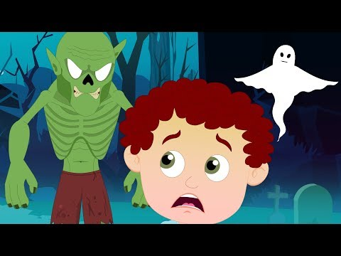 You Can't Run It's Halloween Night - Schoolies Songs For Kids - 동영상