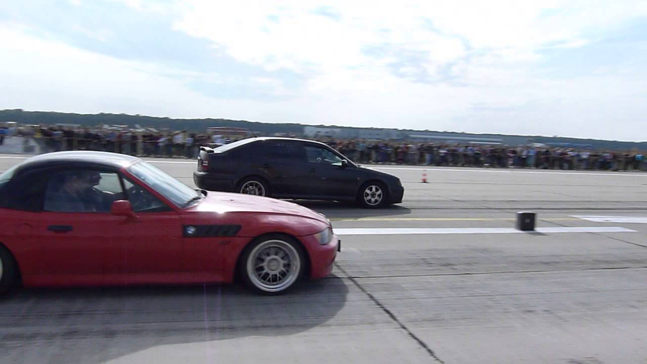 Bmw Z3 2 5 Turbo Vs Skoda 1 9tdi Youtube