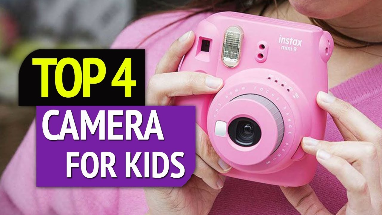 Top 4 Best Camera For Kids Youtube