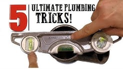 The 5 ULTIMATE plumbing tricks you'll ALWAYS use! | GOT2LEARN