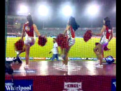CHEERLEADERS KING XI PUNJAB
