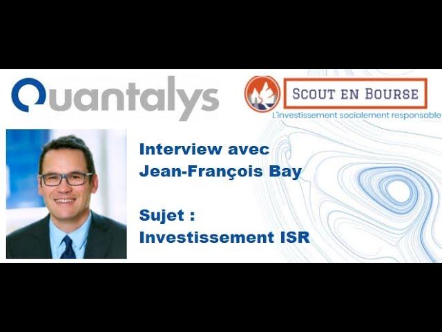Parlons ISR avec Jean-François Bay