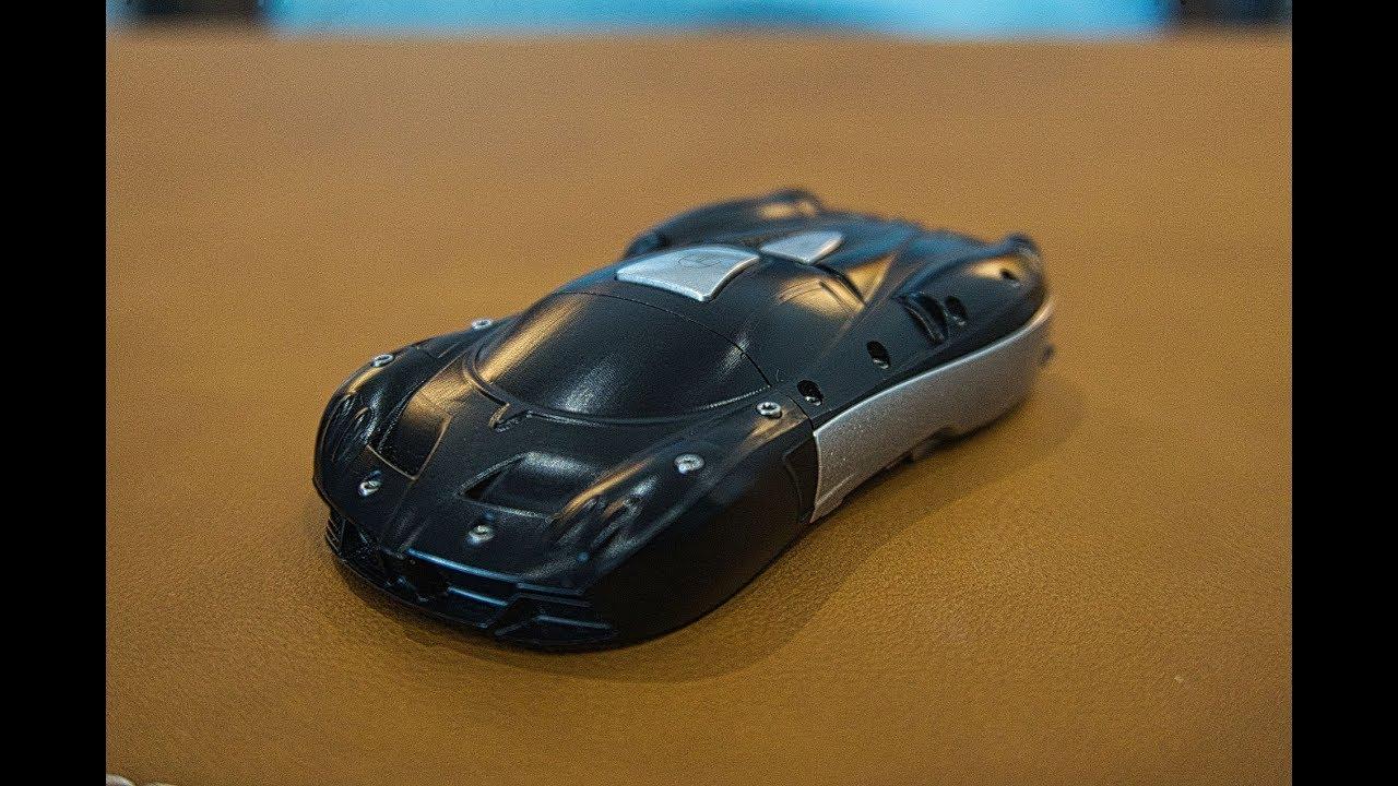 $5000 key for $2.5 million pagani huayra roadster miniature model of