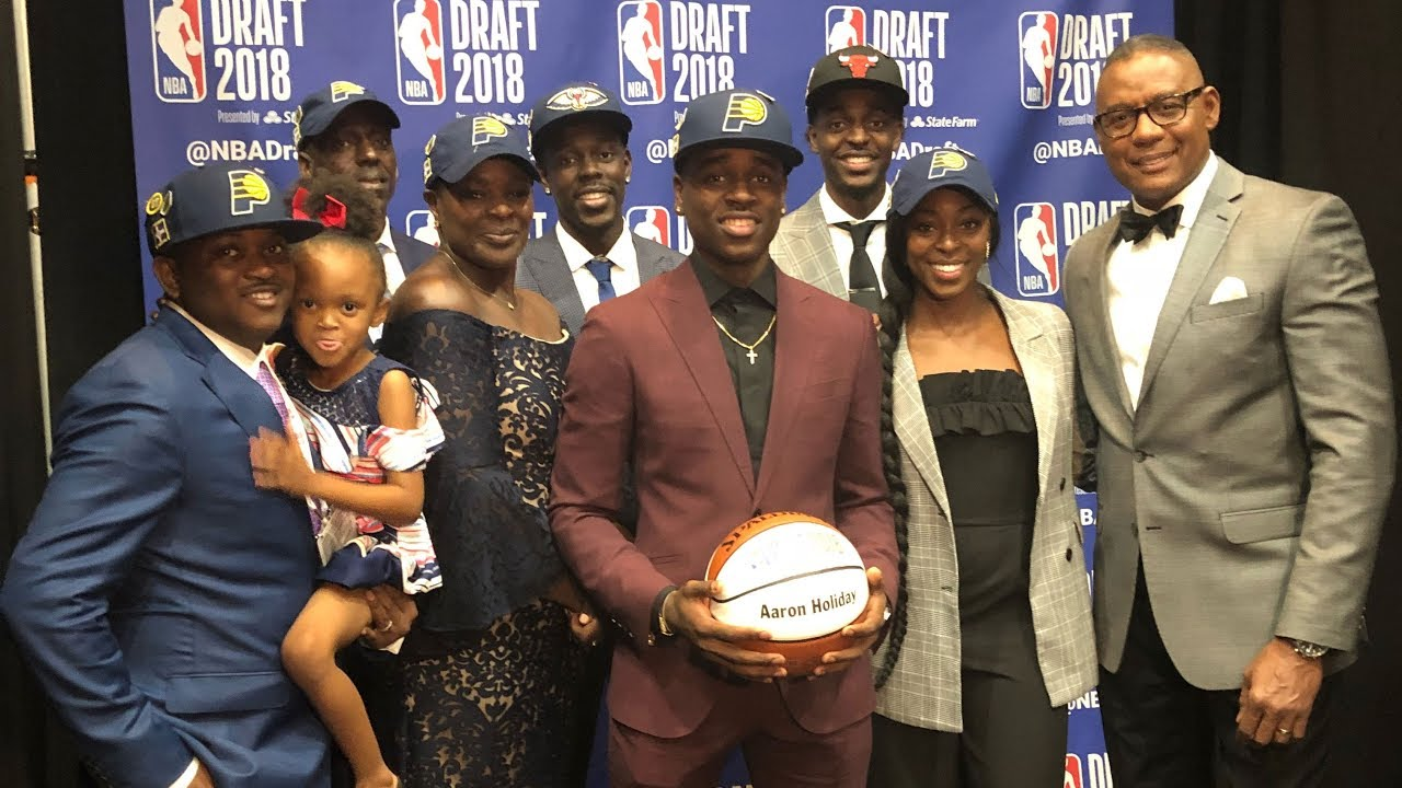 Aaron Holiday's selection makes it a family affair in ...