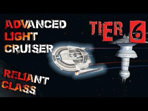 Reliant-class Advanced Light Cruiser [T6] – with all ship visuals - Star Trek Online
