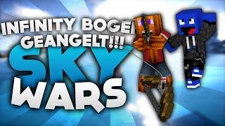 INFINITY BOGEN GEANGELT!!! - Minecraft Sky Wars! | DieBuddiesZocken