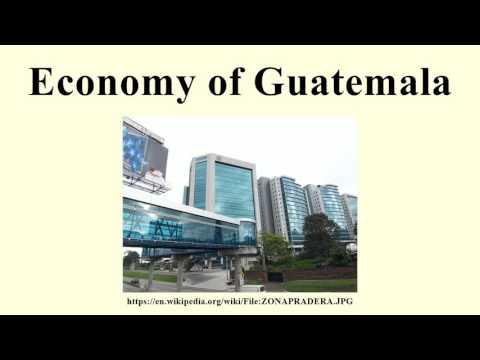 Economy of Guatemala