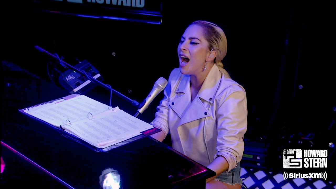 """Download Lady Gaga """"Million Reasons"""" on the Howard Stern Show (2016)"""