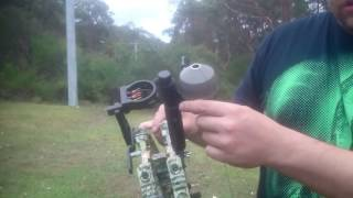 Bow Fishing Triangle Compound Test