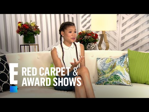 """Storm Reid Reacts to Landing """"Wrinkle in Time"""" Lead at 14 