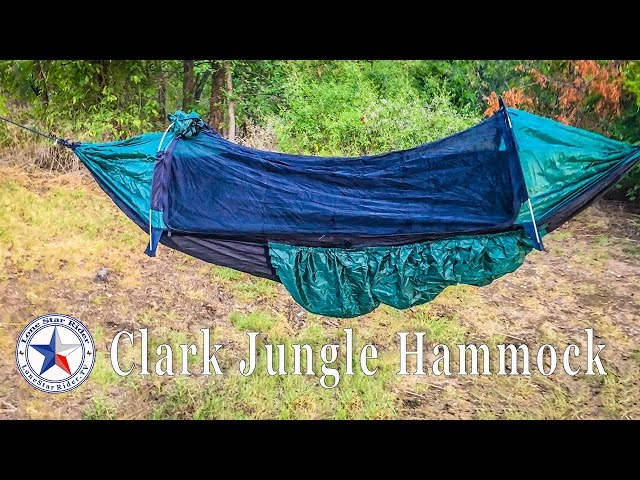 camping with the clark jungle hammock clark jungle hammock tx 250   hammock camping at its best      rh   travelerbase