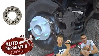 RADLAGER WECHSELN Ford Focus Volvo V50 C30 C70 S40 [Tutorial] HD wheel bearing change
