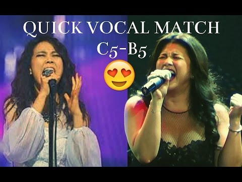 Kim Sohyang Vs. Regine Velasquez | Quick Vocal Range MATCH | C5-B5 HIGH NOTES | FINAL FACE OFF !!!