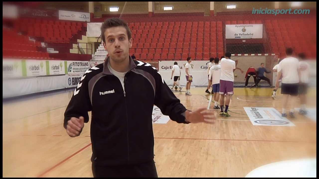 ubicacion de jugadores de handball