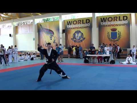 2015 World Taekwondo Championships Andrew MacDonald Kwang Gae