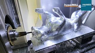 5 Axis Machining: Panther | HAIMER | Open Mind