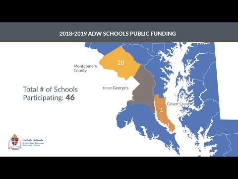 Archdiocese of Washington Catholic Schools 2019 Data Profile