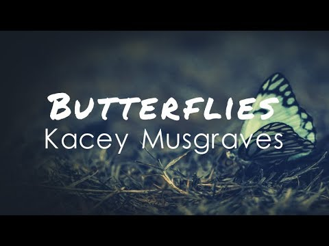 Kacey Musgraves - Butterflies (Lyric Video)