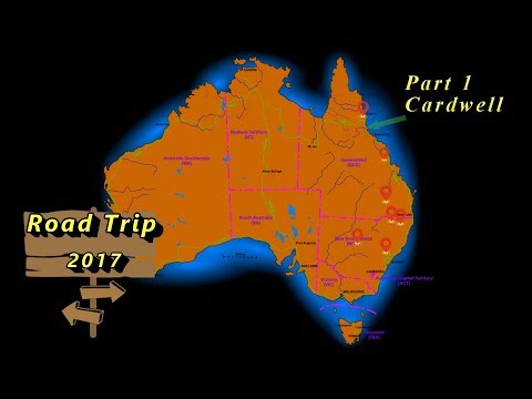 Road Trip 2017 - Part 1 - Cardwell, Queensland Australia
