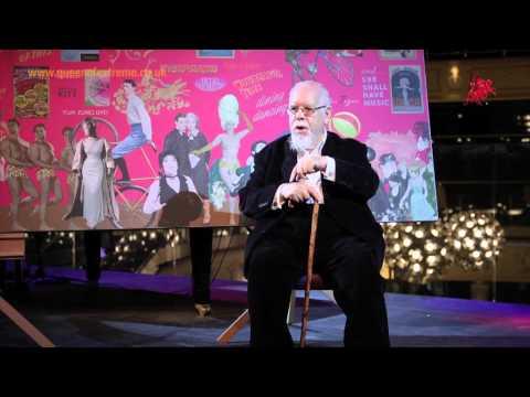 Sir Peter Blake showcases his new artwork at the Hippodrome casino