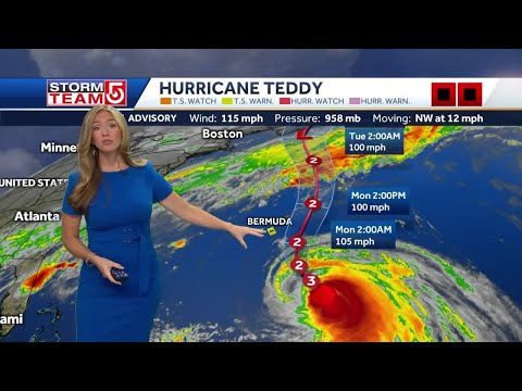 Video- Staying Cool While Tracking Hurricane Teddy