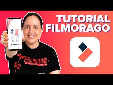 FilmoraGo: TUTORIAL completo para EDITAR VÍDEOS en tu MÓVIL! | ChicaGeek