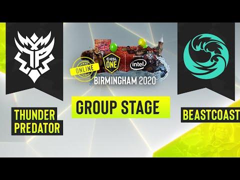 VOD: beastcoast vs TP - ESL One Birmingham - Game 1