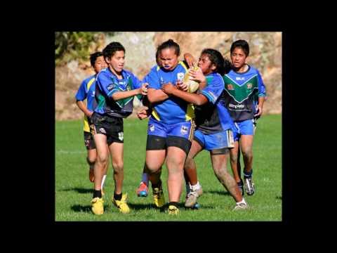 Beast Mode Girl. Hunters Victoria University RLC Wellington Juniors